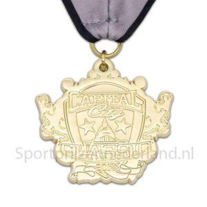 Zelf ontworpen medailles