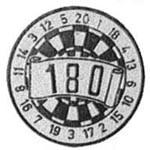 88. Darten 180
